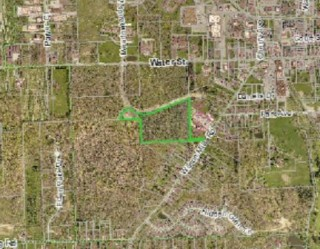25 Acres of development land