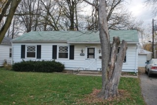 Foreclosure auction of residential home