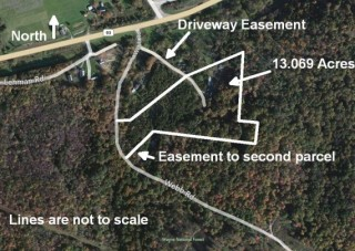 Foreclosure Auction of 13.069 Scenic Acres in Hocking Co.
